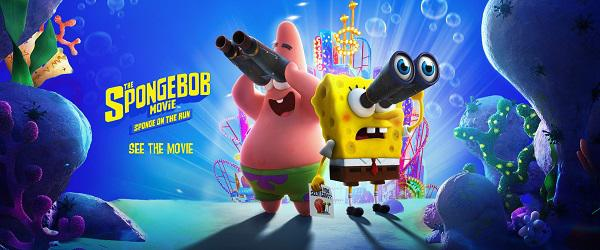 The SpongeBob Movie Kids' Meal toys