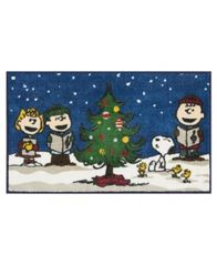 "Image of Nourison Peanuts Holiday 18"" x 30"" Accent Rug"