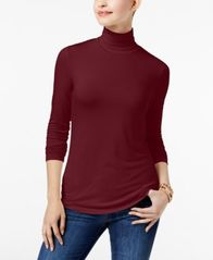 Image of Maison Jules Turtleneck Top, Created for Macy's