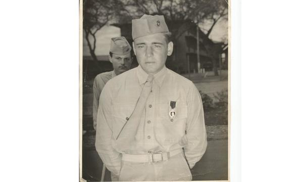 My father received the Purple Heart from action in the Battle of Saipan