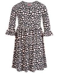 Image of Epic Threads Big Girls Ruffle-Sleeve Babydoll Dress, Created for Macy's