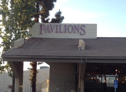 Pavilions store front picture at 845 E California St in Pasadena CA