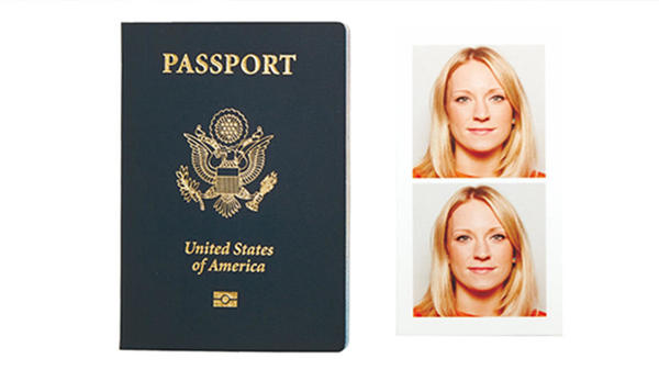 Passport and passport photo