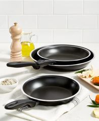 "Image of Tools of the Trade 8"", 9"" & 11"" Fry Pan Set, Created for Macy's,"