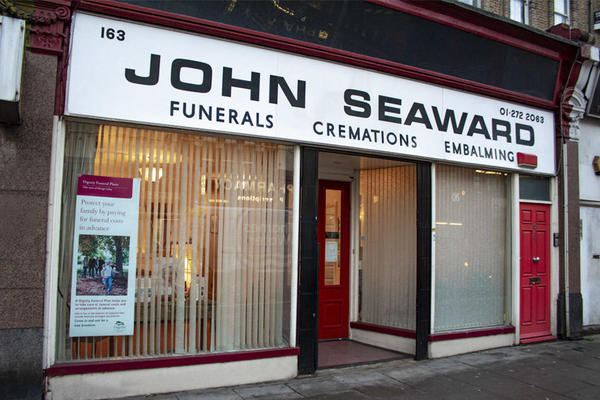 John Seaward Funeral Directors in Finsbury Park, London.
