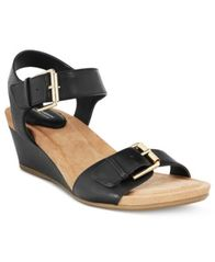 Image of Giani Bernini Bryana Memory Foam Wedge Sandals, Created for Macy's