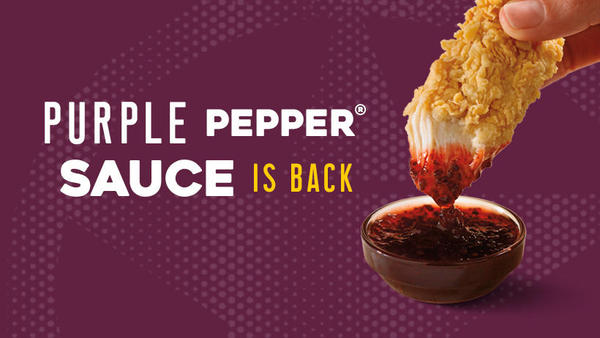 Church's Chicken Purple Pepper Sauce is back
