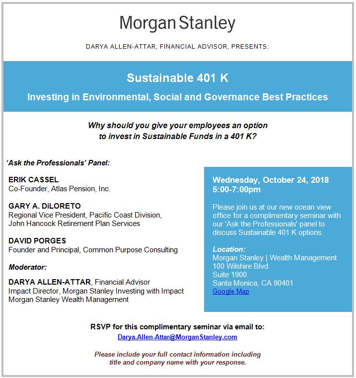Darya Allen-Attar   Santa Monica, CA   Morgan Stanley Wealth
