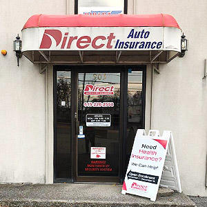 Front of Direct Auto store at 905 East Trinity Lane, Nashville