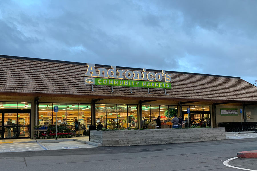 Andronico's Community Markets Store Front Picture at 900 Lighthouse Ave in Monterey CA