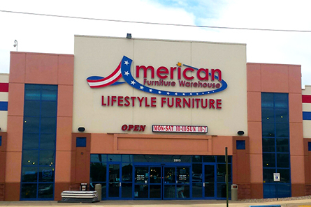 Attrayant Colorado Springsu0027s American Furniture Warehouse Is Located On The West Side  Of 1 25 And East Of N Chestnut St. Customers Enjoy The Largest Selection Of  ...