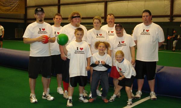 Dodgeball Tournament - Our team!!