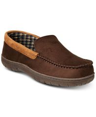 Image of 32 Degrees Men's Venetian Faux-Suede Slippers
