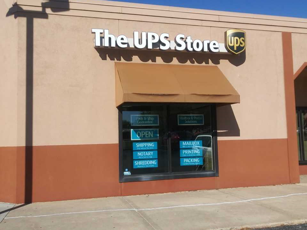 Exterior storefront image of The UPS Store #1898 in Loves Park, IL