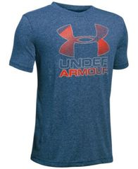 Image of Under Armour Hybrid Big Logo T-Shirt, Big Boys (8-20)