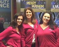 Merry Mayhem!  Ringing in the holiday cheer with our agency team!