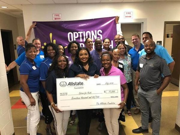 Leslie Woods - Options for Youth Receives Allstate Foundation Helping Hands Grant