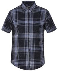 Image of Hurley Men's Archer Short Sleeves Plaid Shirt