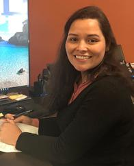 Angelica is one of our newest team memebers.  She speaks both spanish and english and can help you with any policy questions you have.