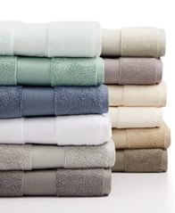 Image of CLOSEOUT! Hotel Collection Premier MicroCotton Hand Towel, Created for Macy's