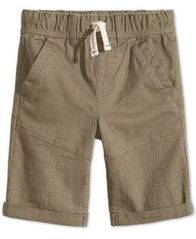 Image of Epic Threads Little Boys Moto Twill Shorts, Created for Macy's