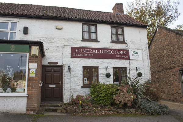 Bryan Mills Funeral Directors in 2 Church Road, York