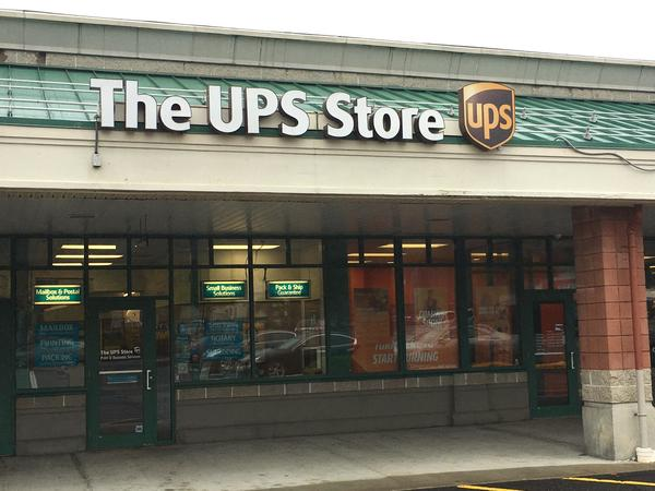 Facade of The UPS Store East Longmeadow