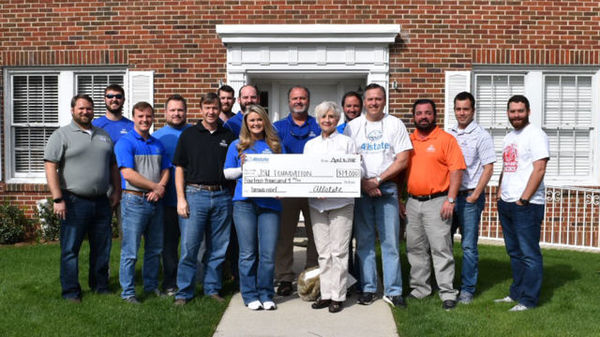 Chad Lincoln - Allstate Foundation Helping Hands Grant Helps The Jacksonville State University Foundation Inc.