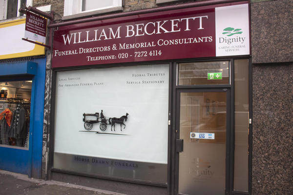 William Beckett Funeral Directors in Archway
