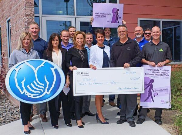 Shawna Honea - Allstate Foundation Helping Hands Grant for Step 2