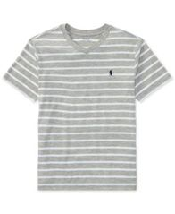 Image of Ralph Lauren V-Neck T-Shirt, Big Boys