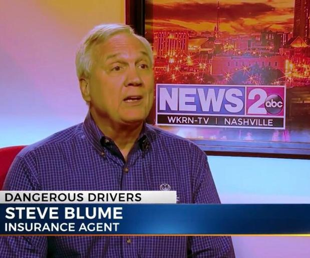 Steve Blume - Featured on WKRN-TV News