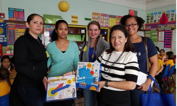 The Allen Morgen Insurance Agency Donating School Supplies at a Local Chicago Public School