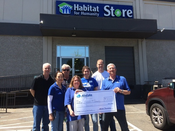 John Ramsay - Allstate Foundation Helping Hands Grant for Habitat for Humanity