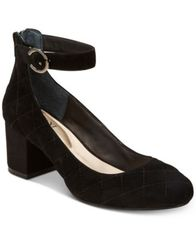 Image of Alfani Women's Step 'N Flex Ashiaa Ankle-Strap Pumps, Created for Macy's