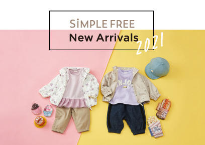 【2/1-2/28】SiMPLE FREE New Arrivals2021