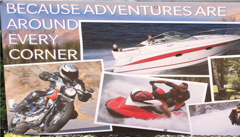 Motorcycles, Boats, RV's, Travel Trailers, ATV's, PWC, Snowmobile...NO Problem