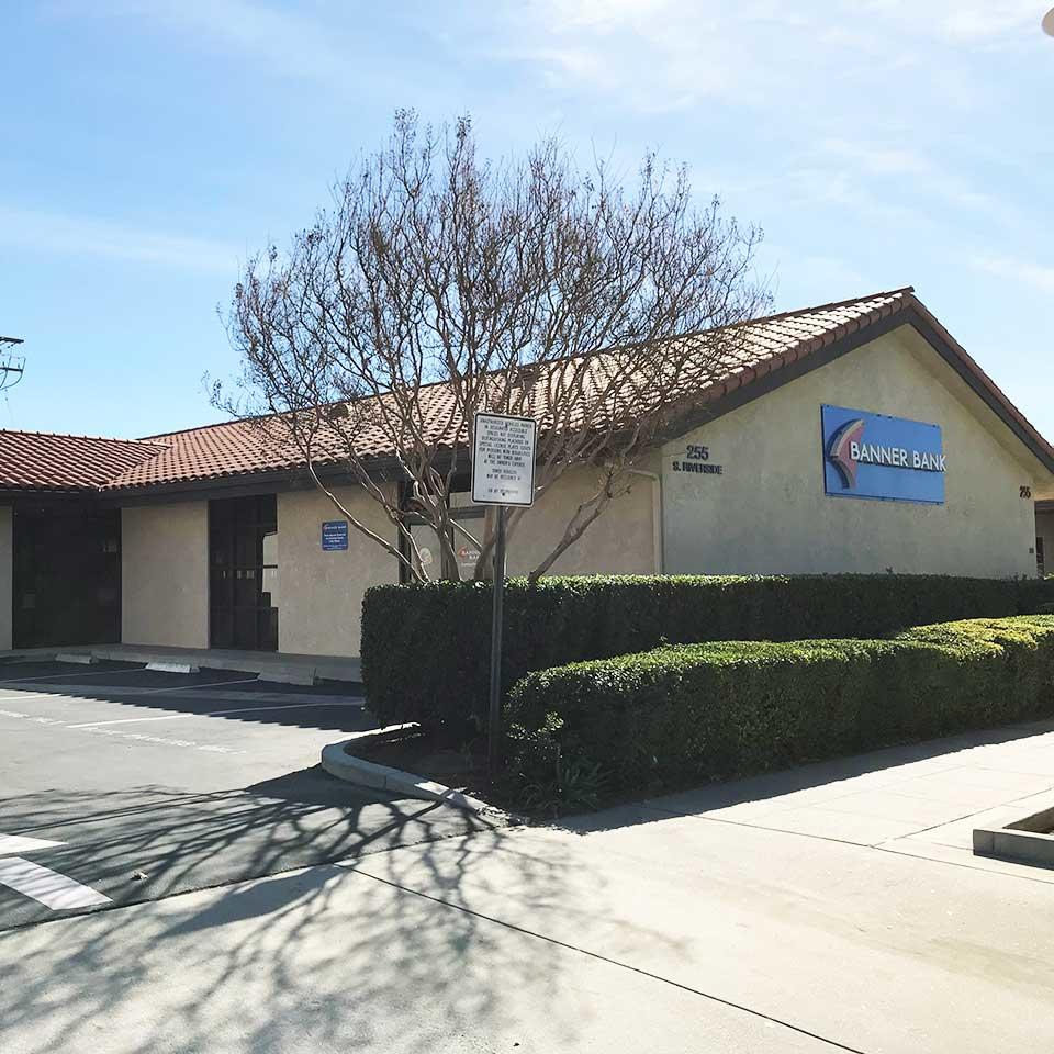 Banner Bank branch in Rialto, California