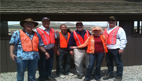 Parking Volunteers for the Golden Spike Reenactment May 10th, 2013