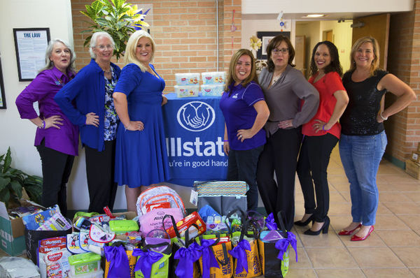 Shannon Burke - Allstate Foundation Helping Hands Grant Emerge! Center Against Domestic Abuse