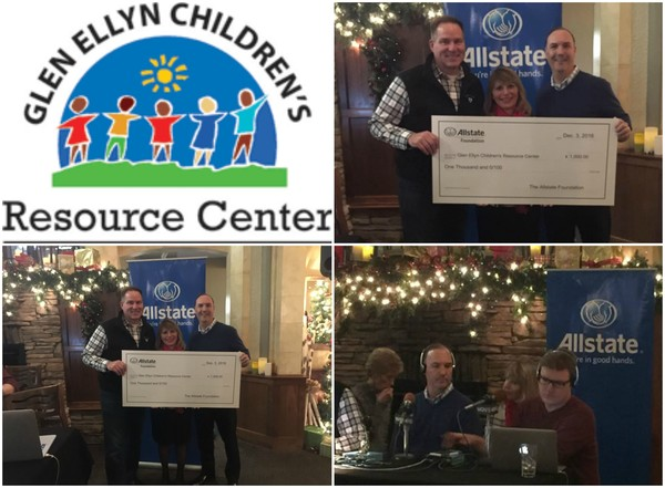 Mulcare Insurance Agency - Happy to award Glen Ellyn Children's Resource Center $1000 grant