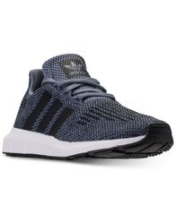 Image of adidas Little Boys' Swift Run Running Sneakers from Finish Line