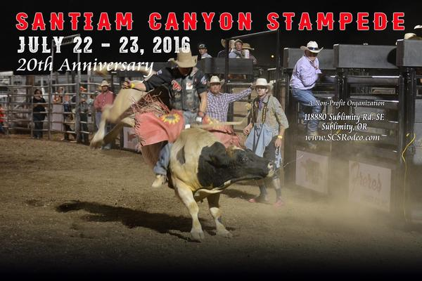 We are a Proud Sponsor of the Santiam Canyon Stampede in our local community!