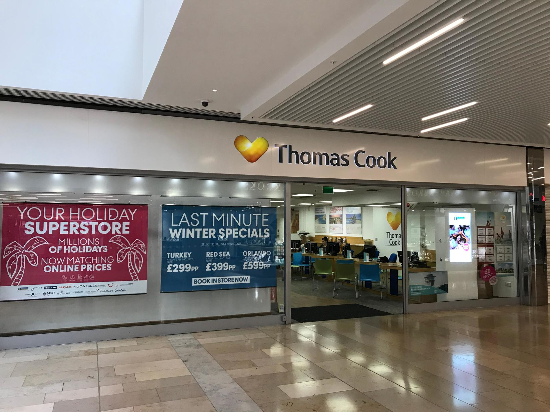 Thomas cook peterborough travel store thomas cook - Email thomas cook head office ...