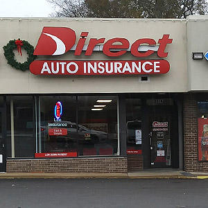 Front of Direct Auto store at 2614 Gallatin Road, Nashville