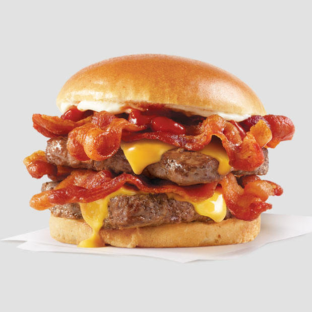 Free Baconator with $10 purchase on DoorDash