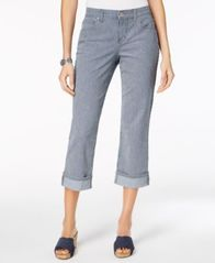 Image of Style & Co Curvy Cuffed Capri Jeans in Regular & Petite Sizes, Created for Macy's
