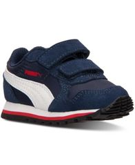Image of Puma Toddler Boys' ST Runner Nylon V Casual Sneakers from Finish Line