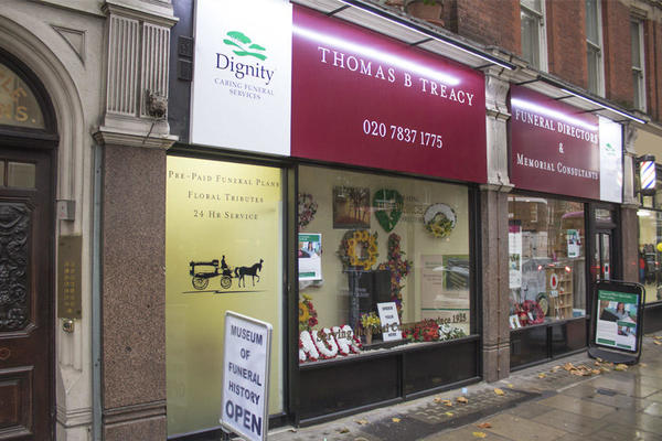 Thomas B Treacy Funeral Directors in Clerkenwell