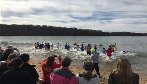 Law Enforce.Torch Run and Polar Plunge sponsoring the Kansas Special Olympics!